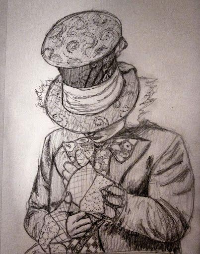 Mad Hatter Sketch 10 22 12 Art By Dk Alice Im Wunderland