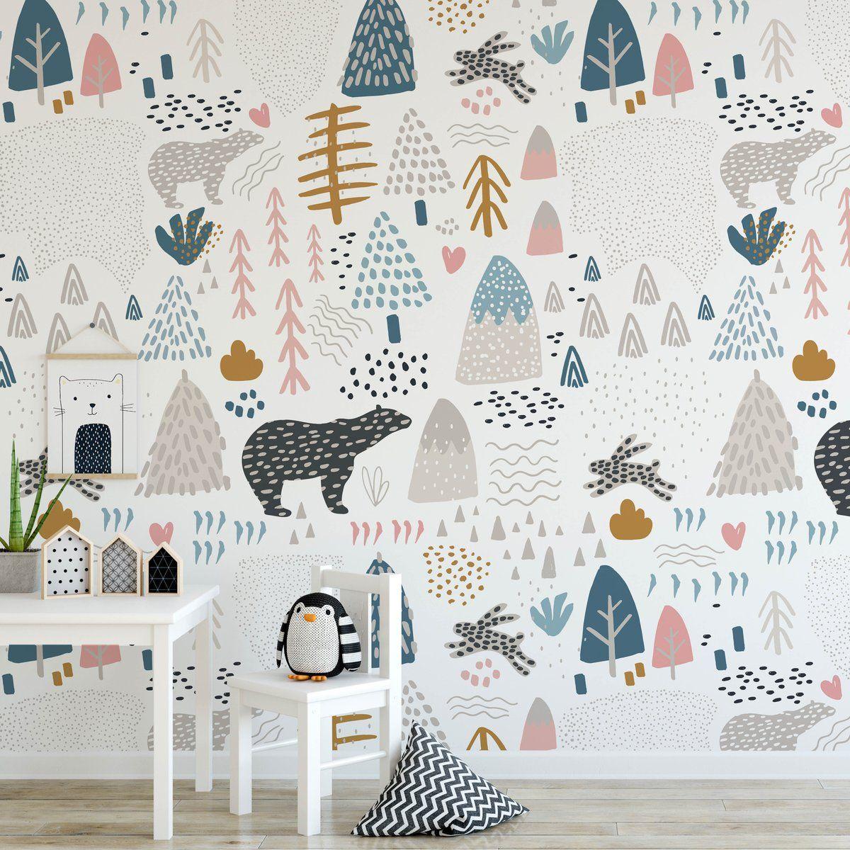Best Oso Wallpaper In 2020 Boys Room Wallpaper Kids Bedroom Wallpaper Kids Room Wallpaper 400 x 300