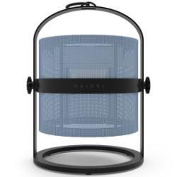 La Lampe Petite Led Solarlampe / kabellos - Gestell schwarz - Maiori - Kohle,Royalblau Maiori #bluetoothtechnology