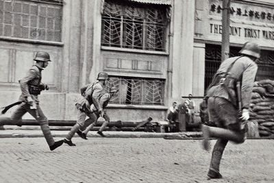 CV-16 The 88th , led by Lt Col. Hsieh Chin-yuan ,counterattacks the Japaneses in the city.