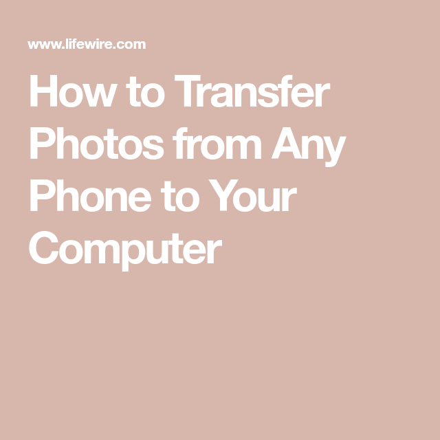 Get Pictures Off Your Phone To The Computer Using Any Device Or Os Iphone Life Hacks Ipad Hacks Iphone Information