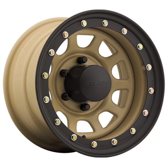 Desert Sand Us Wheel Daytona Lock Ring Style Jeep Wheels