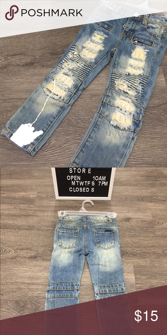 f9471c7034c Bleached ripped boy jeans Bleached ripped boy jeans Bottoms Jeans ...