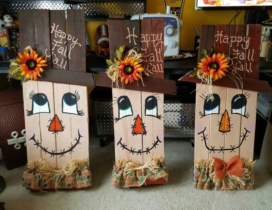 Pin by Brenda on diania's pallet creations | Fall halloween