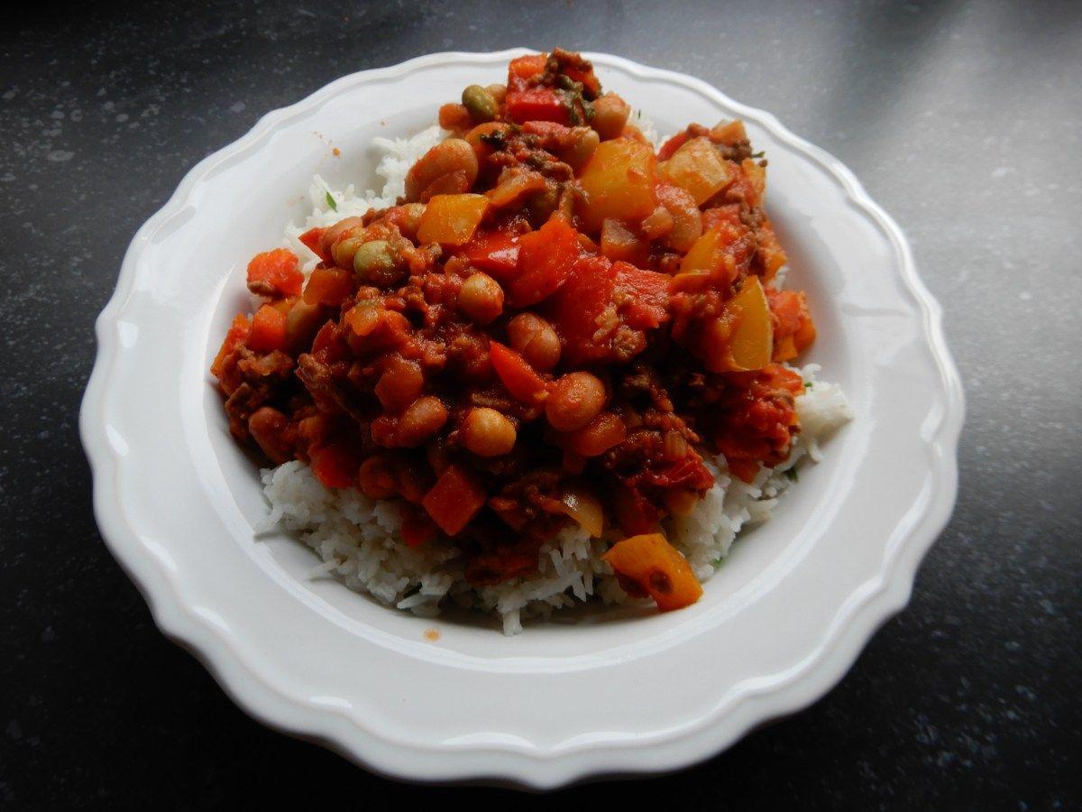 Chili con carne zonder pakjes en zakjes met bonen, gehakt, paprika, tomaat en verse kruiden - RECEPT BurgertrutjesNL