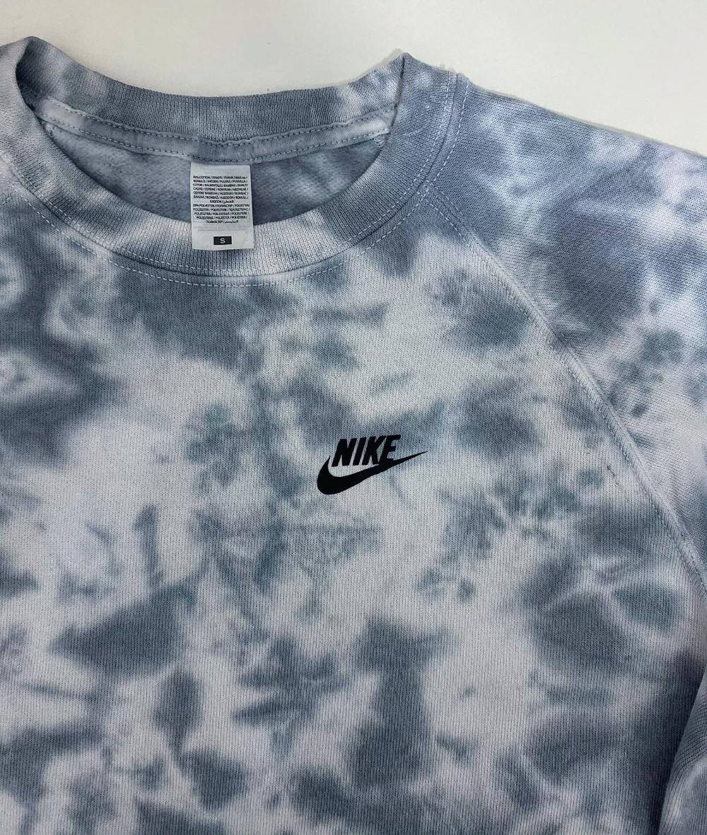 Blush Nike Tie Dye Sweatshirt Nike Tie Dye Nike Inspired Etsy Sweatshirts Tie Dye Sweatshirt Staple Pieces [ 1180 x 1000 Pixel ]