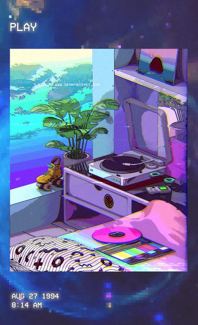 'vaporwave aesthetic' Poster by dennybusyet in 2020 ...