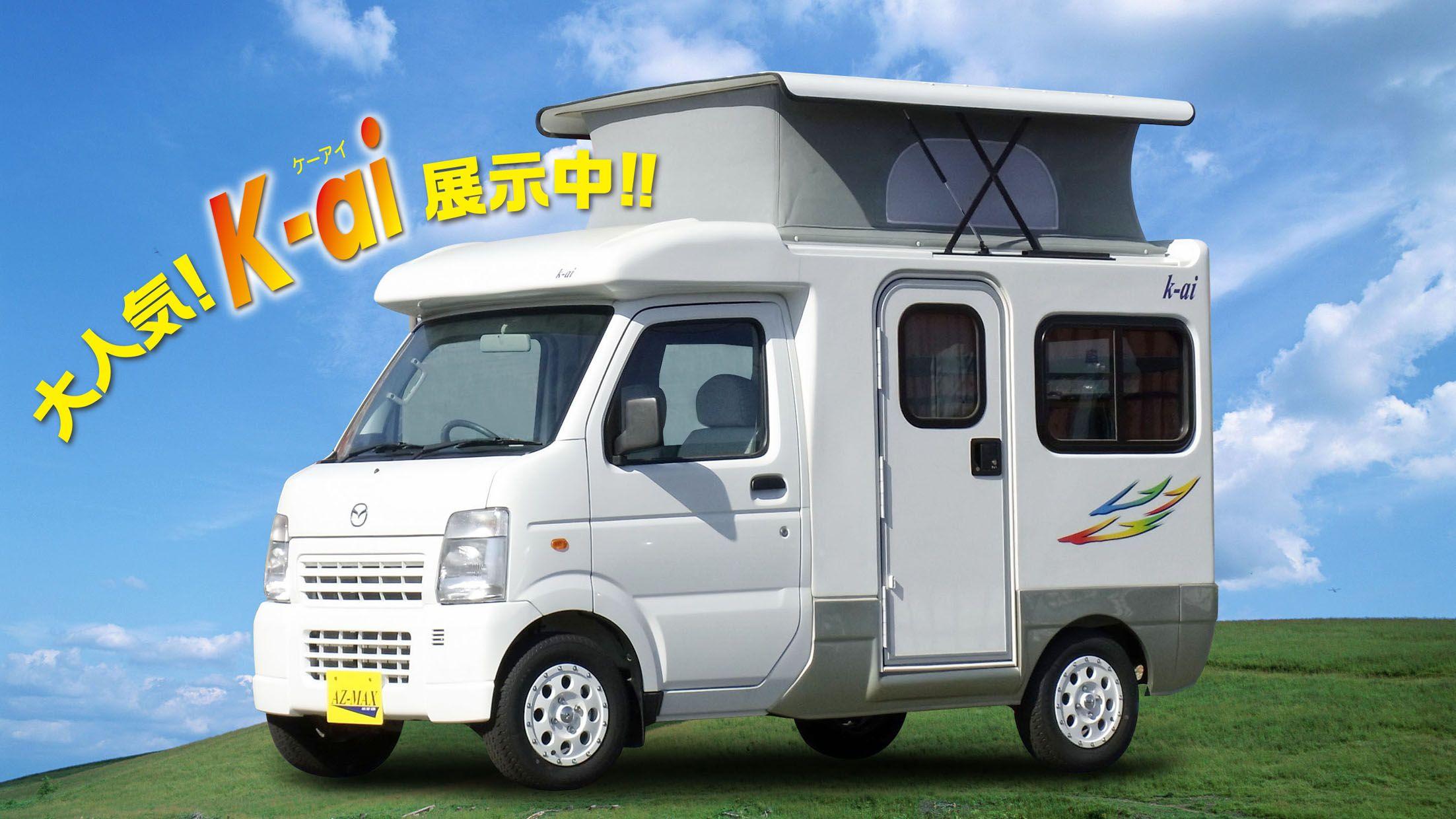 japanese mini rv   Mini camper, Car camper, Recreational ...