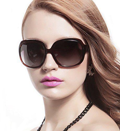 e7f99002fb80 ATTCL® 2015 Oversized Women Sunglasses Uv400 Protection Polarized Sunglasses,Brown  ATTCL sunglasses http: