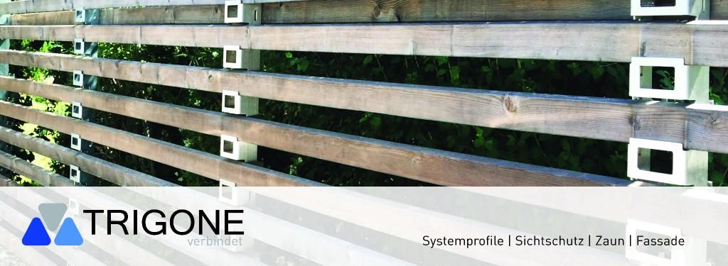 Trigoneverbindet Zaunsysteme Sichtschutzwände