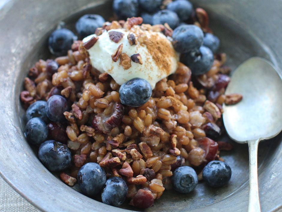 how to cook wheat berries in a slow cooker