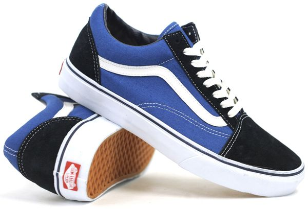 Old Chaussures Pinterest Skool Navy Vans Shoes 560qgqwn