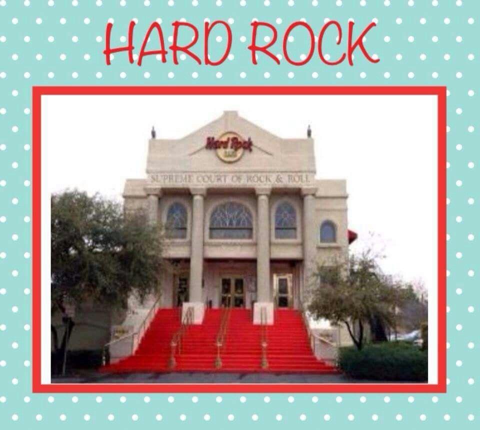 Originally A Church The Hard Rock Cafe Mckinney Avenue Dallas Texas Was Later Torn Down Hard Rock Dallas Dallas Tx