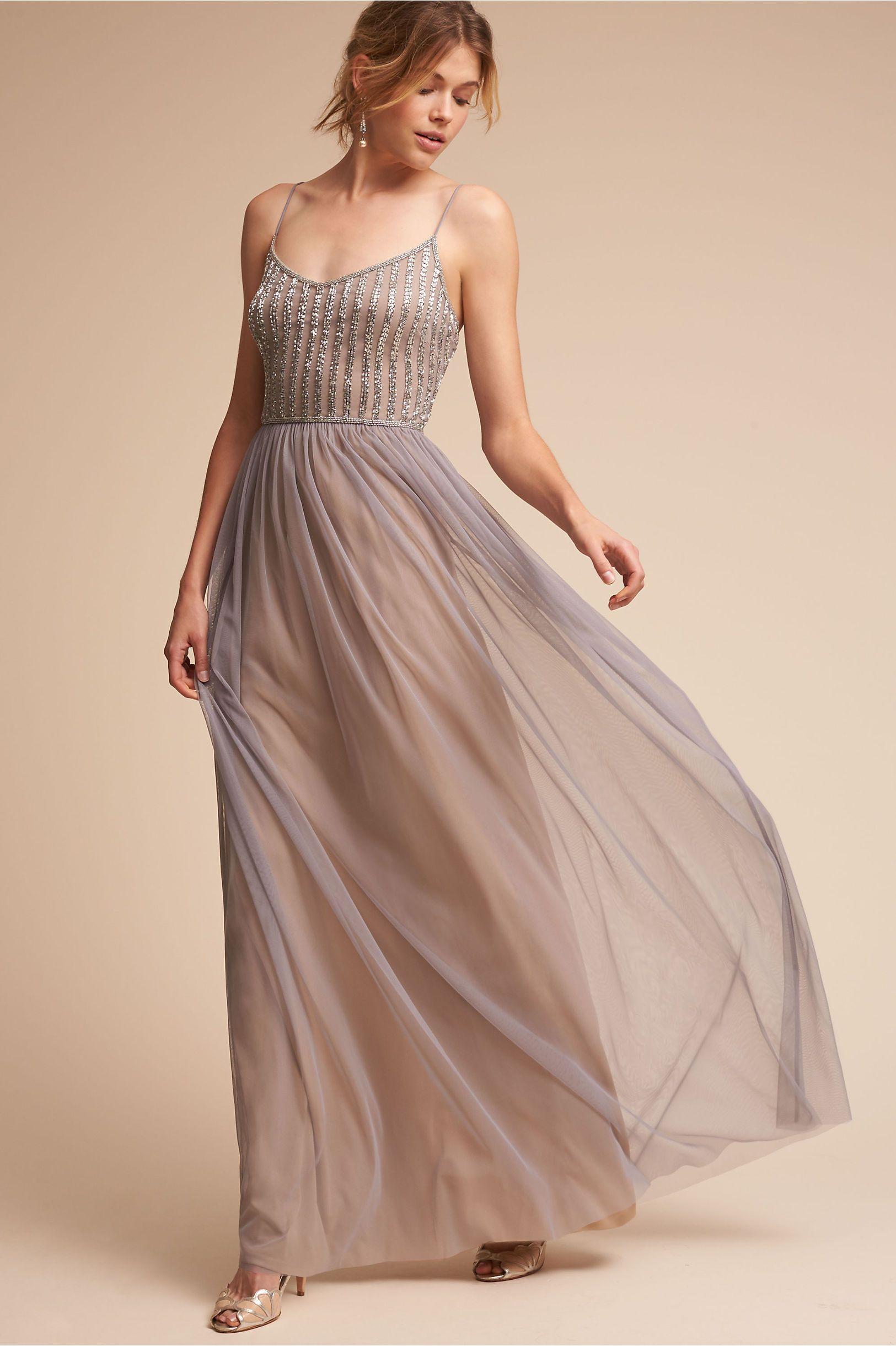 Silver Grey Wedding Guest Dresses