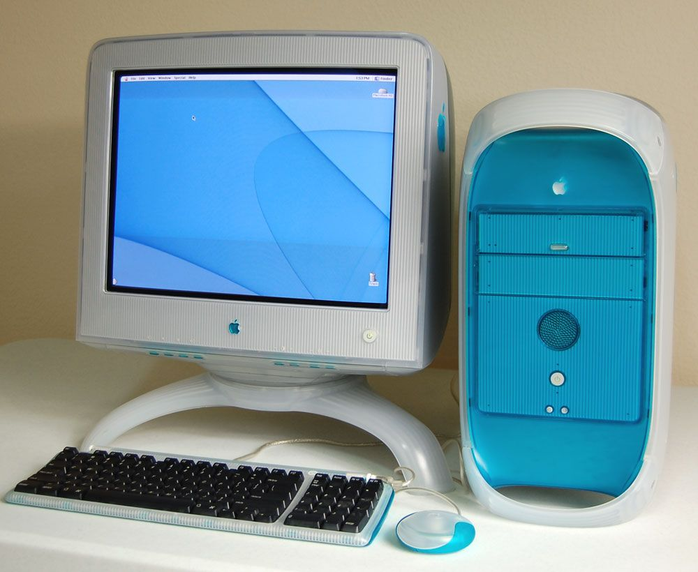 Apple Power Macintosh G3 350 (Blue & White). Who remembers this ...