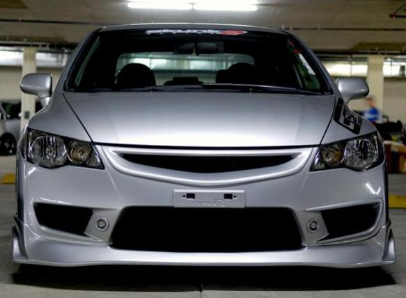 Fd2 Type R Bumper Lip With Mini Fogs Aftermarket Grille Fdtwo 8thcivic Com Honda Cars Honda Civic Honda