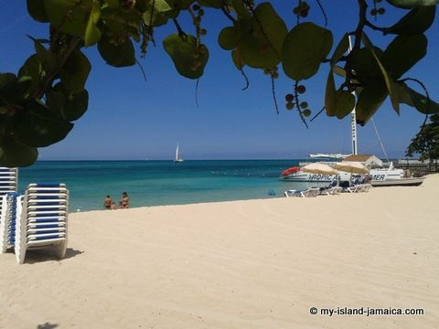 The Beautiful Cornwall Beach In Montego Bay Jamaica
