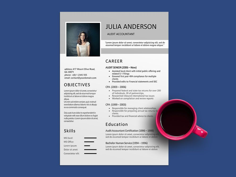 29++ Public accounting resume examples inspirations