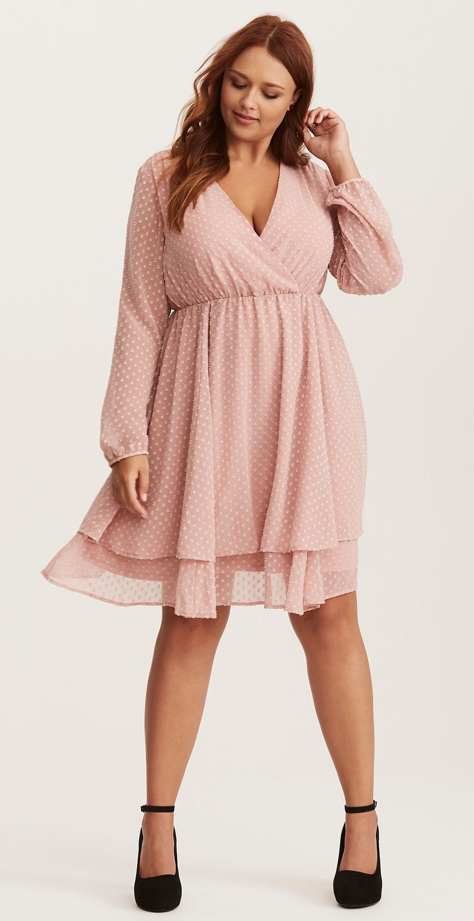 Plus Size Skater Dress | Plus Size Party Dress | Plus sinze elegant ...