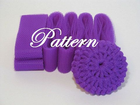 Scrubbie Pattern For Nylon Netting Dish Scrubbies ...