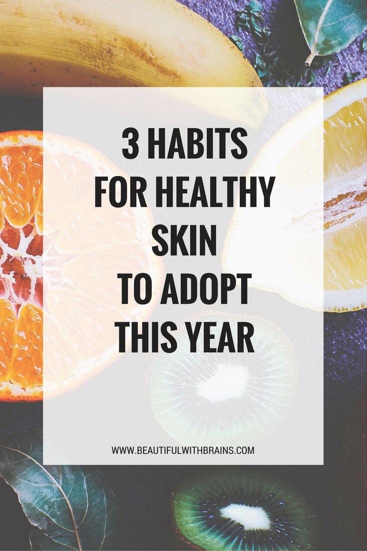 3  #skincare #habits to adopt this year