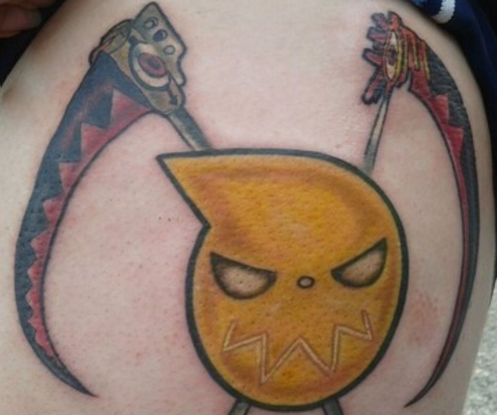 Soul Eater Tattoos Anime Gaming Tattoo