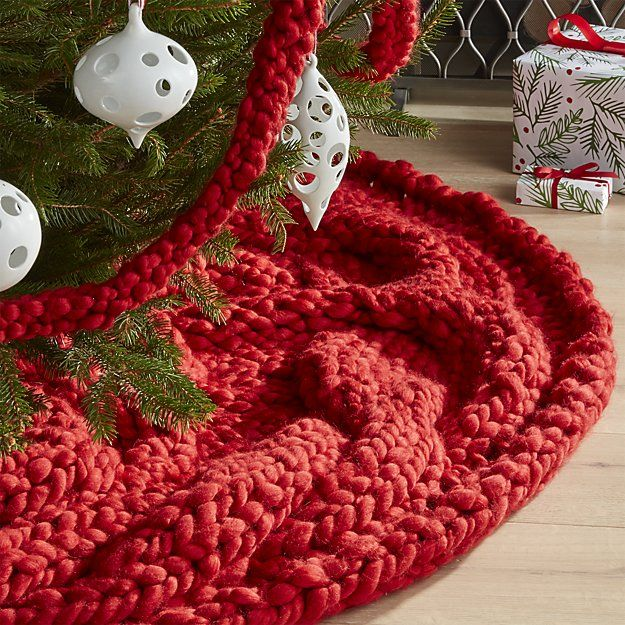 Knit A Long Chunky Blanket And Drape Around Tree Cozy Knit