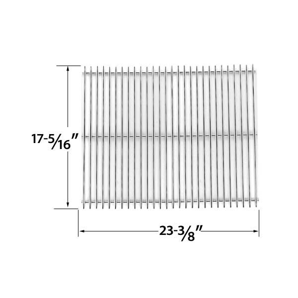 Stainless Steel Replacement Cooking Grid For Kalamazoo