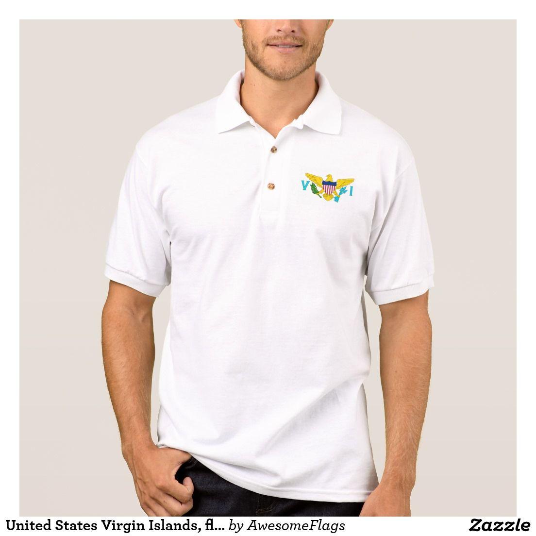 United States Virgin Islands, flag Polo Shirt