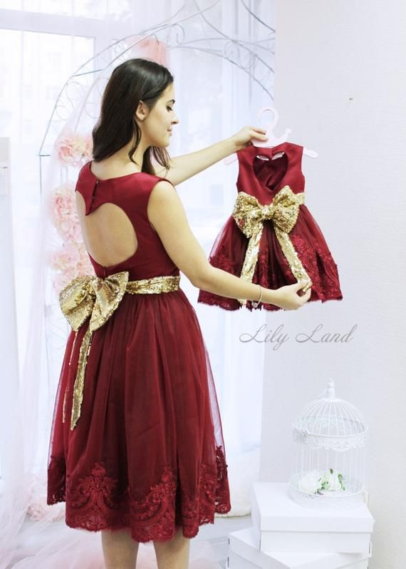 Red mommy and me Christmas dresses matching dresses sparkling dress red  dress christmas dresses red a0990f7e45