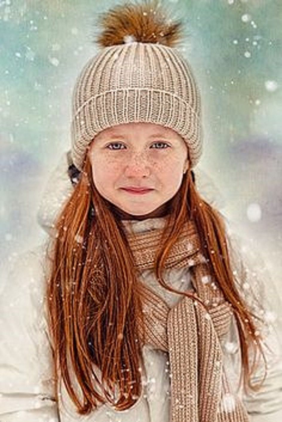 Ginger Girl - Rothaariger Mädchen / Rote Haare - Red Hair