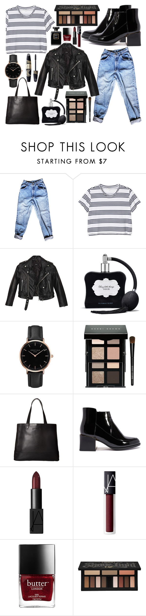 """""""ootd"""" by chantal-07 ❤ liked on Polyvore featuring Monki, Nasty Gal, Victoria's Secret, Topshop, Max Factor, Bobbi Brown Cosmetics, SOREL, NARS Cosmetics and Kat Von D"""