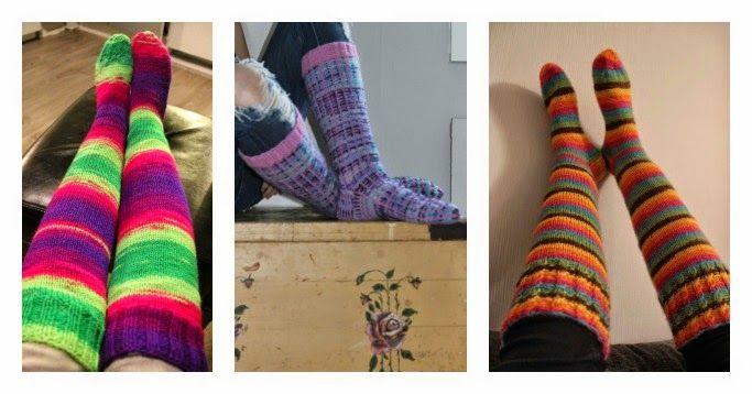 Villasukkia / Woolen socks
