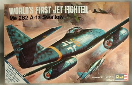 Revell Me 262 1 32 Plastic Model Kits Model Kit Revell