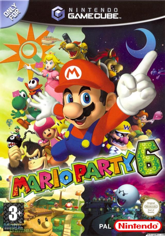 Mario Party 6 Gamecube Game Gamecube games, Mario party