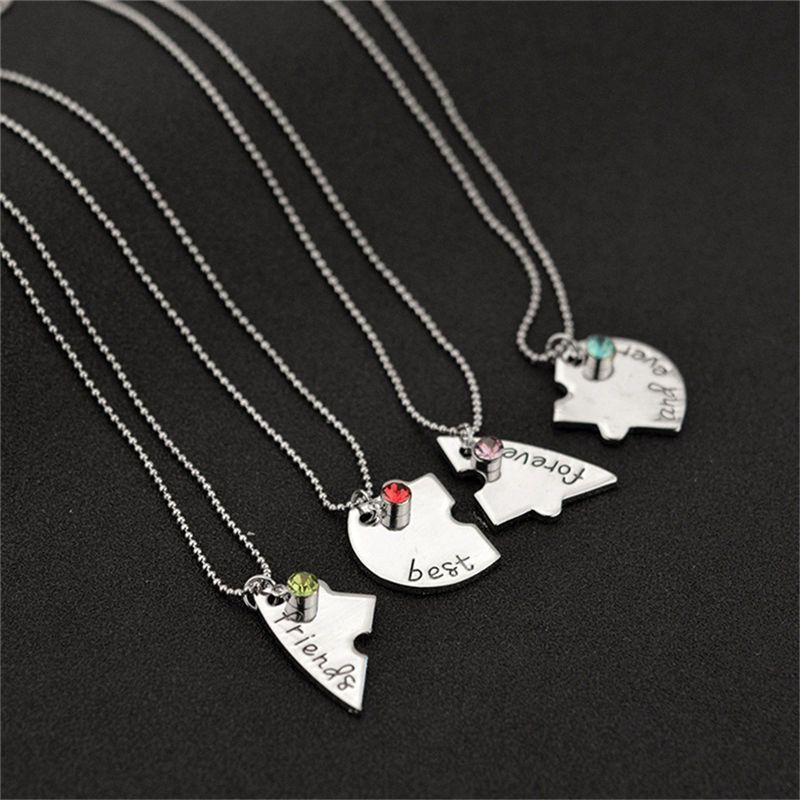 Best friend forever necklace for 4 friendship necklace