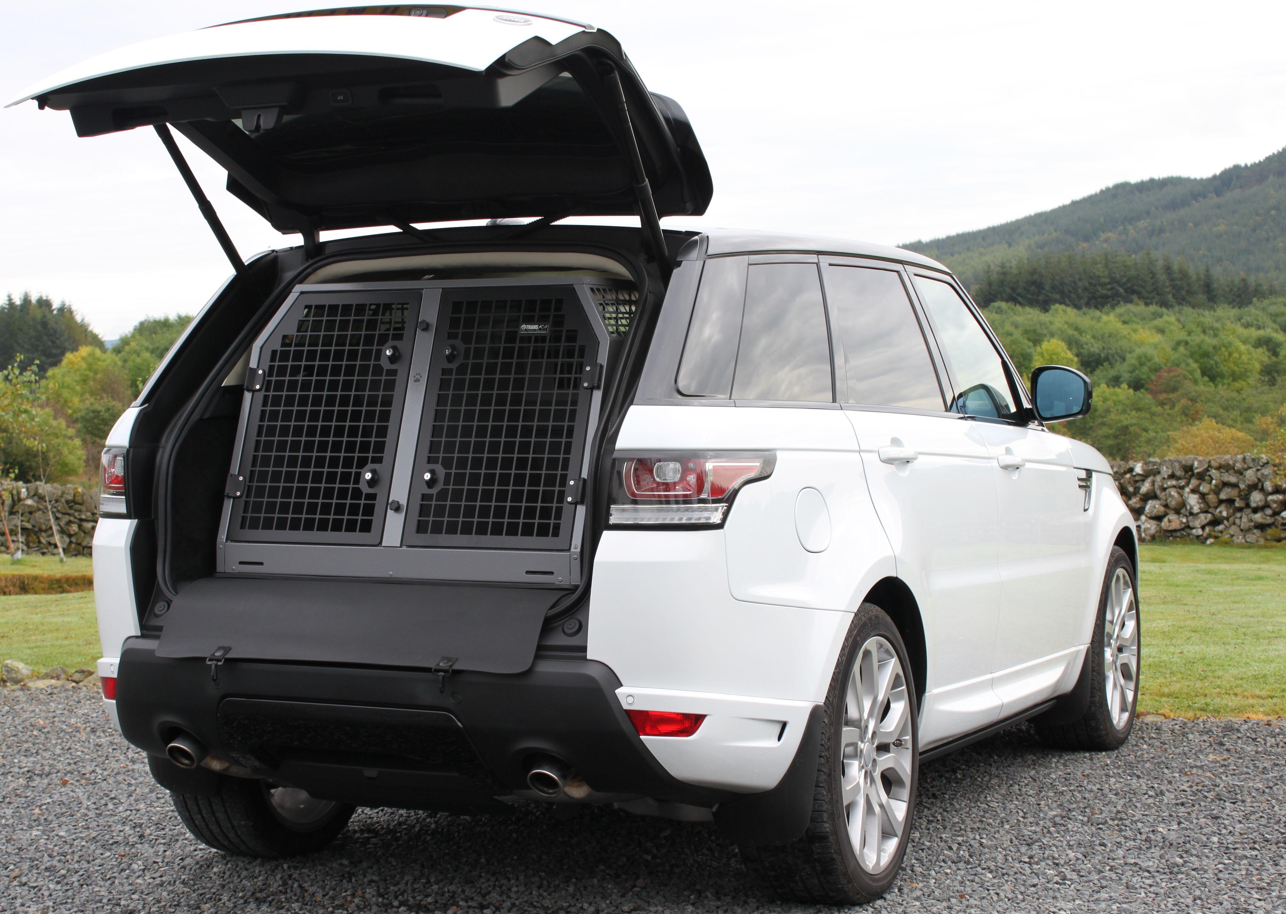 TransK9/B26 Dog Transit Box for Range Rover Sport 2015  Emergency