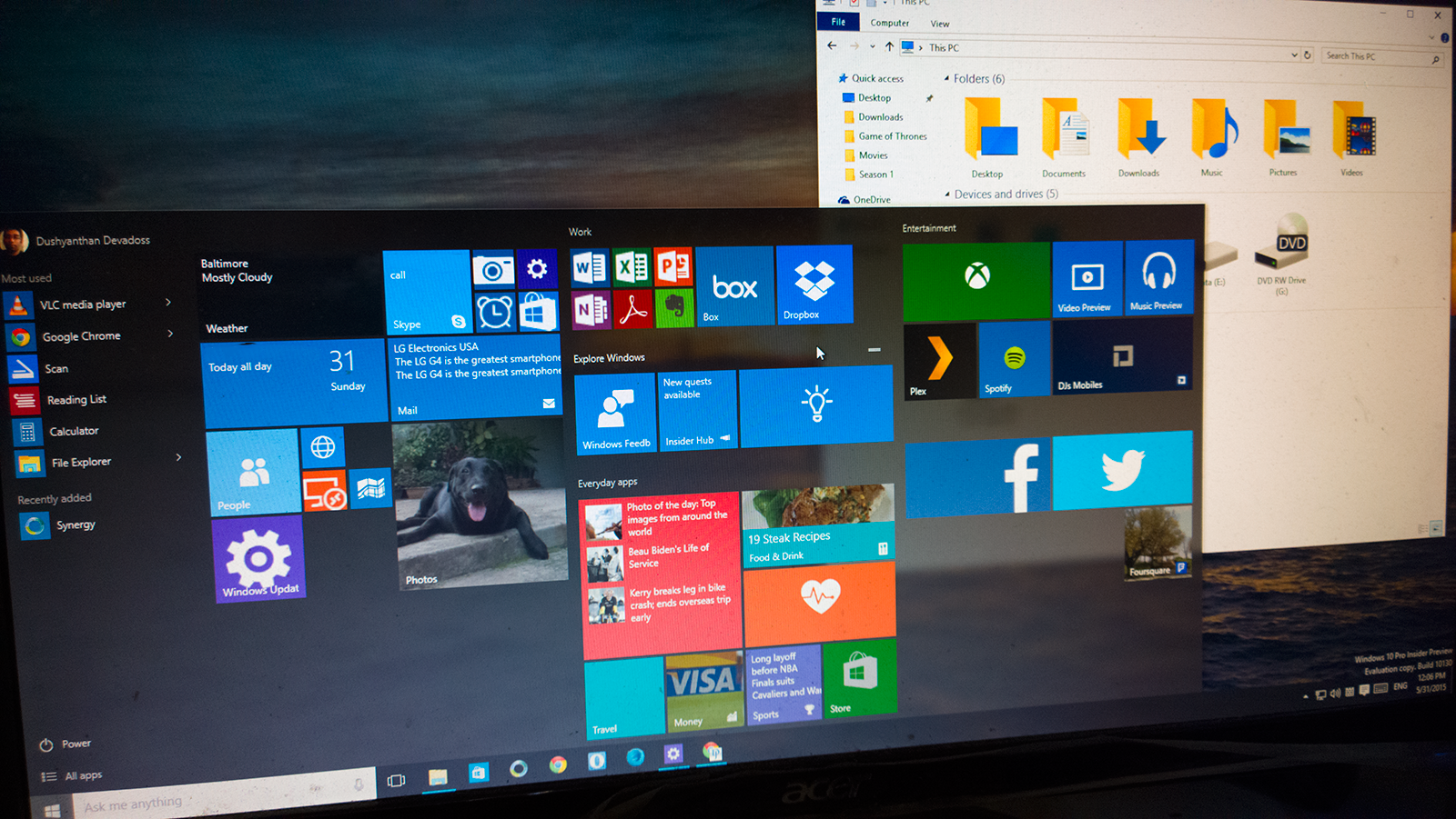 Microsoft has released windows 10 build 10041 to users registered in microsoft has released windows 10 build 10041 to users registered in the windows 10 insider program fast ring here are all the details pinterest ccuart Image collections
