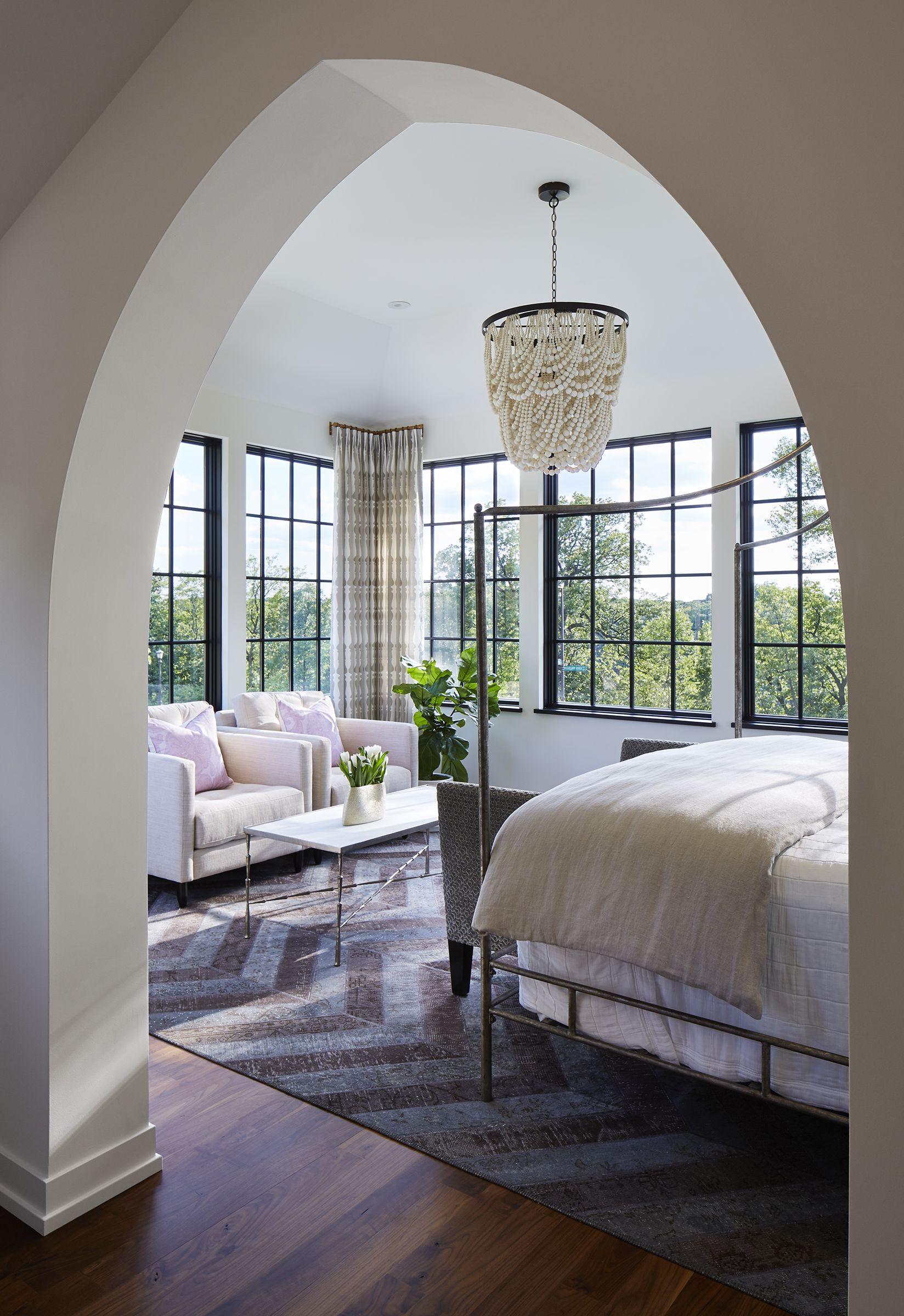 Photo of Master Bedroom   Modern Mediterranean, St. Paul, MN