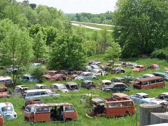 Oh Cambridge Volkswagen Boneyard 2 Volkswagen Abandoned Cars Volkswagen Aircooled