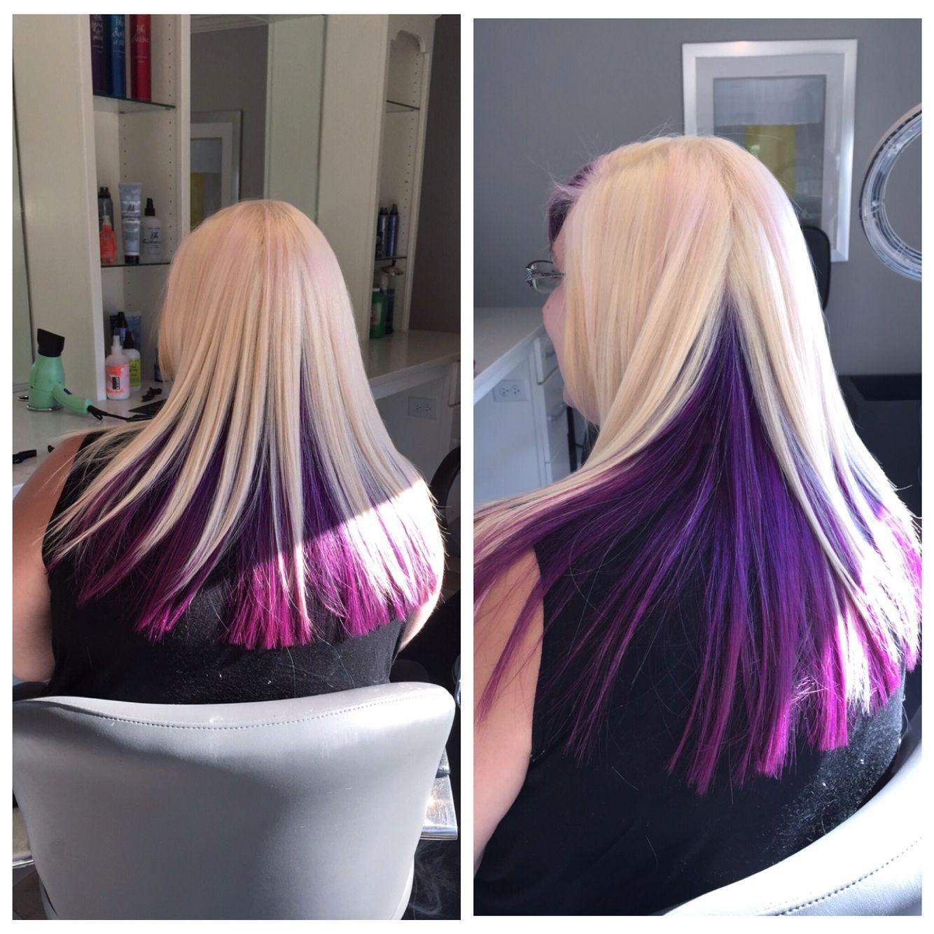 Bree Salon Goldwell color joico color platinum blonde fun color ...