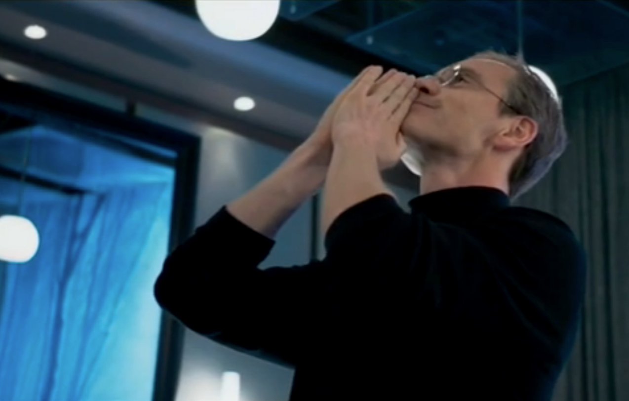 'Steve Jobs' Movie Review: Not So Applelicious (2015)   Steve jobs film. Steve jobs. Michael fassbender
