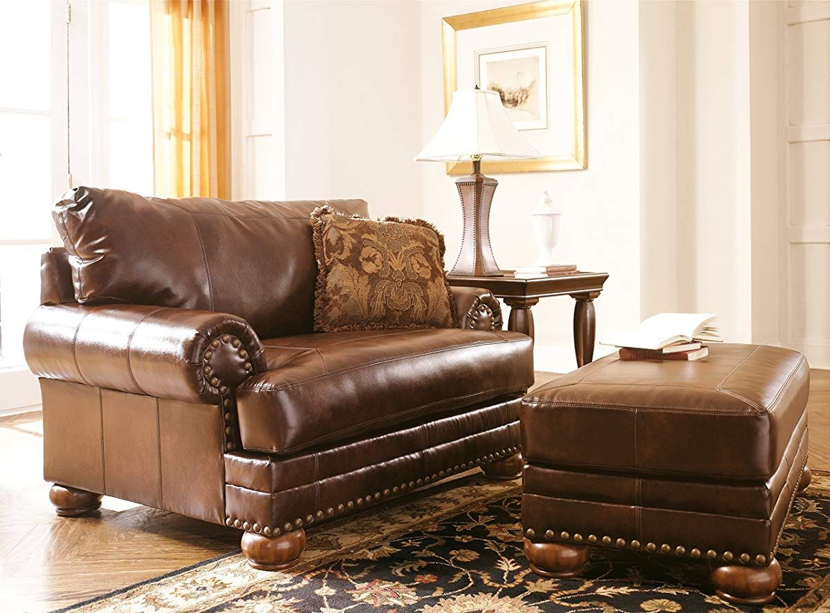 Chair And A Half With 1 Accent Pillow Chair And A Half Furniture Furniture Chair