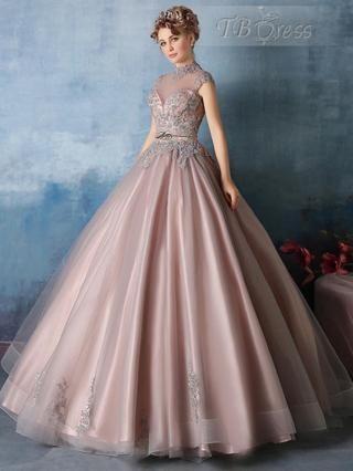 4905aada1 vestido de 15 años de otoño (4)