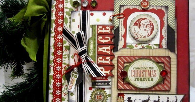 Chance Christmas Album.I Love Mini Books And Make Them When I Get A Chance Here S