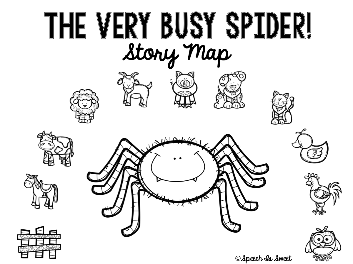 The Very Busy Spider Plus Freebie