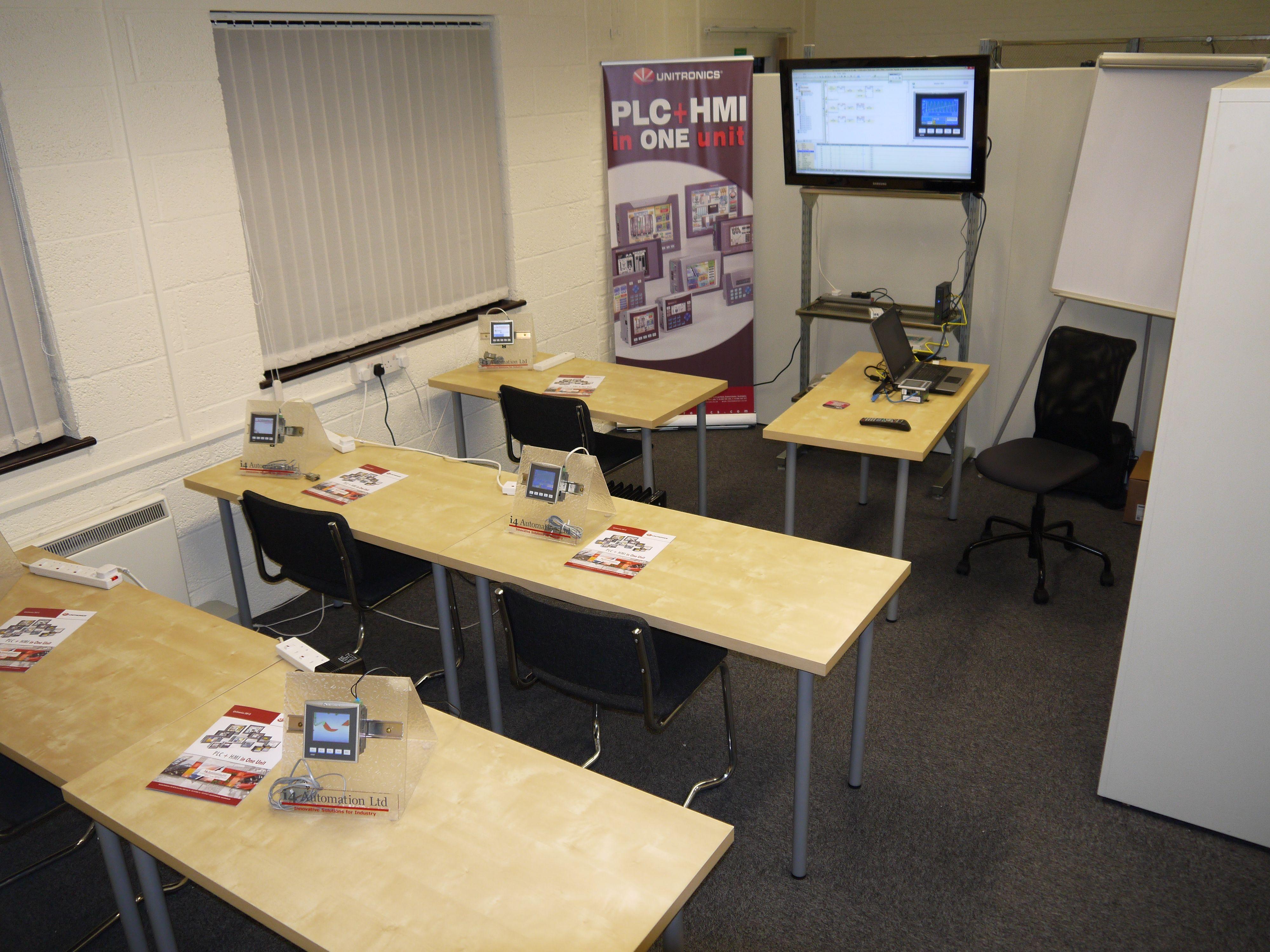 Unitronics Training at i4 Automation, Visilogic and U90 we