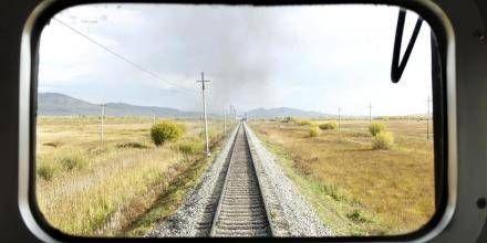 den transmongolske jernbane