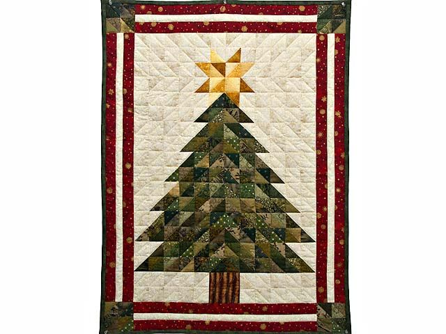 Christmas Tree Quilt -- Outstanding