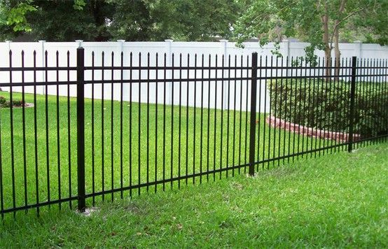 Fence In 1 2 Acre For The Dogs Pet Fence Backyard Fences Modern Fence Brick Fence